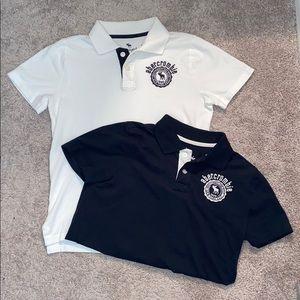 Boys 13/14 Abercrombie Kids Polo Shirts